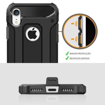 iPhone XR Capa Anti-Shock Hybrid Armor