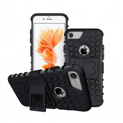 iPhone 7/8 Capa Híbrida Stand Anti-Shock