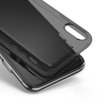 iPhone XR Capa Fina Ringke Air Silicone Preto Transparente