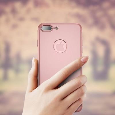 iPhone 7/8 Capa 360º Slim iPaky + Vidro Temperado