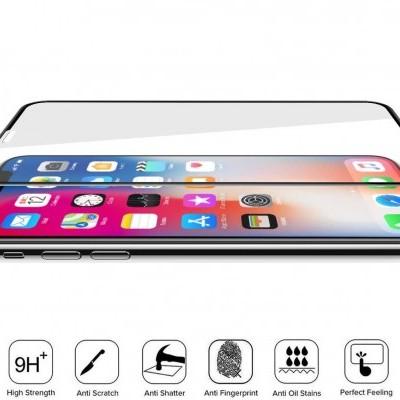 Películas de Protecção de Ecrã em Vidro Temperado Full Screen iPhone X/XS