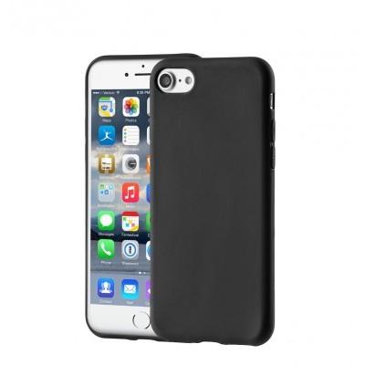 iPhone 7/8 Capa Fina Silicone Preto Mate