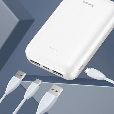 Power Bank / Bateria Universal Baseus Mini JA 10000mAh