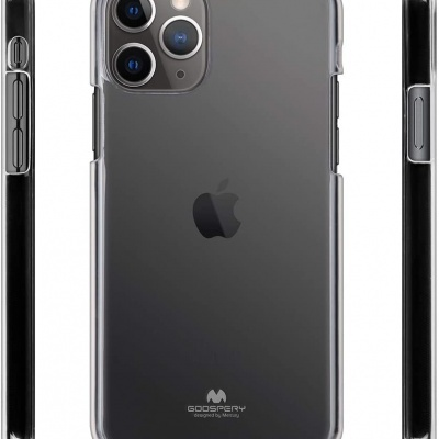 Capa Goospery Jelly 100% Transparente para iPhone 11 Pro Max