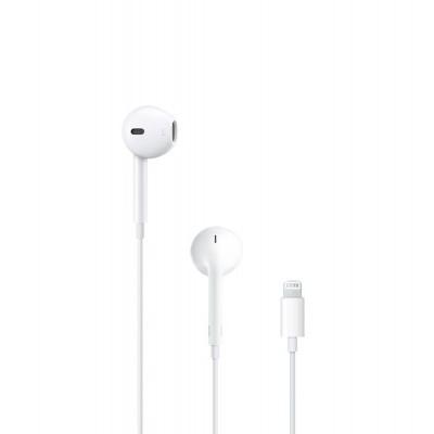 Auscultadores EarPods Apple com comando, microfone e conetor lightning