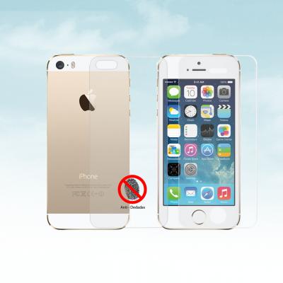 Películas de Protecção Frente e Trás Anti-Dedadas (Efeito Mate) iPhone 5/5S/SE