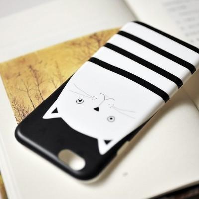 iPhone 6/6S Capa Maoxin Cat Thief (Capa + Ring Holder + Notebook + Estojo)