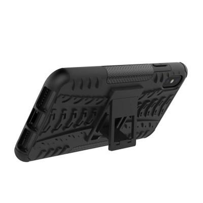 iPhone XR Capa Híbrida Stand Anti-Shock