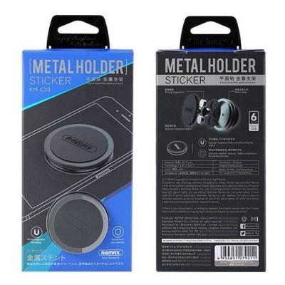 Suporte Magnético Metal Holder RM-C30 360º Universal