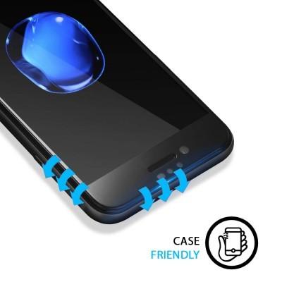 Películas de Protecção de Ecrã em Vidro Temperado 4D Full Screen iPhone 7/8 Plus