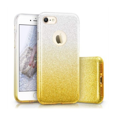 iPhone 7/8 Capa Silicone Gradient Bling