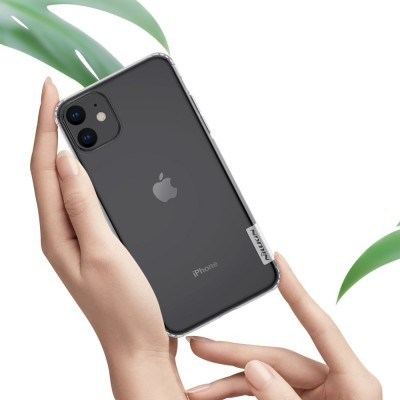 iPhone 11 Capa Super Fina Silicone Nillkin Nature