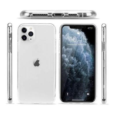 iPhone 11 Pro Max Capa 360º Silicone Transparente