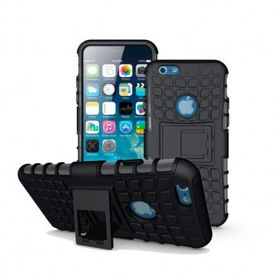 iPhone 6/6S Capa Híbrida Stand Anti-Shock