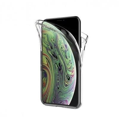 iPhone XS Max Capa 360º Silicone Transparente