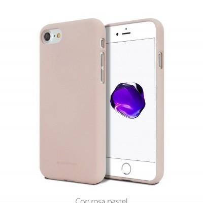 iPhone 7/8 Capa Fina Silicone Soft Feeling Goospery