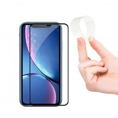 Películas de Protecção de Ecrã em Vidro Temperado Full-Cover Nano Flex HD iPhone XR