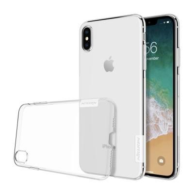 iPhone XS Max Capa Super Fina Silicone Nillkin Nature