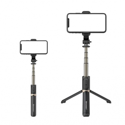 Selfie Stick + Tripod com controlo Bluetooth (amovível) HD+ Wozinsky
