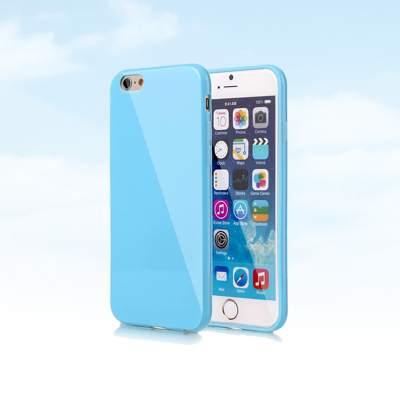 iPhone 6/6S Plus Capa Silicone Cores Pastel Gloss