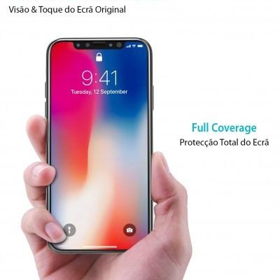 Películas de Protecção de Ecrã Ultra-Finas em Vidro Temperado 5D Full Nano Flex Hybrid iPhone 11 Pro