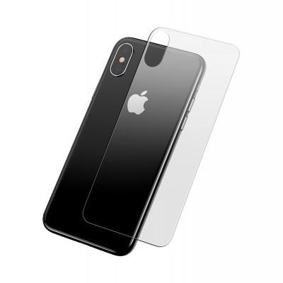Películas de Protecção Traseira Baseus em Vidro Temperado iPhone XS Max