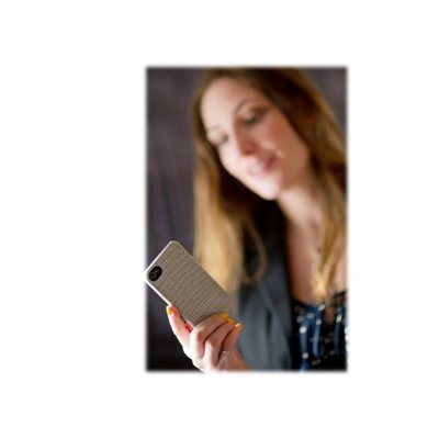 iPhone 5/5S/SE Capa Kensington Vesto Textura Pele
