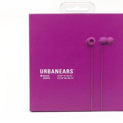 Auscultadores Urbanears Bagis Grape com comando e microfone
