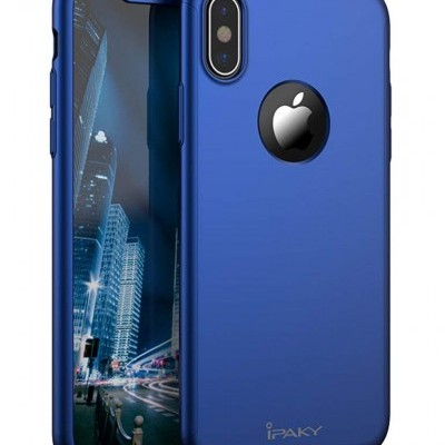 iPhone X/XS Capa 360º Slim iPaky + Vidro Temperado