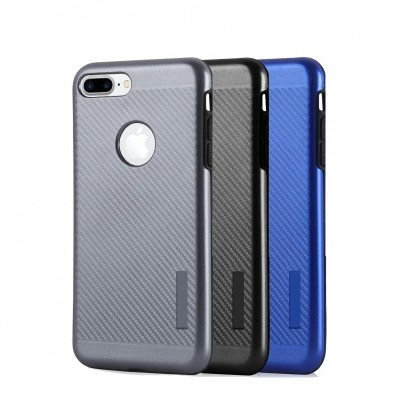 iPhone 7/8 Capa Magnética Anti-Shock Carbon Armor
