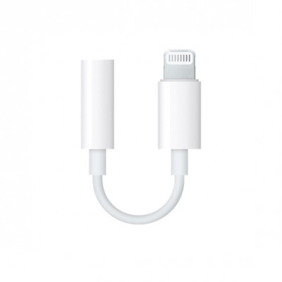 Adaptador Lightning para auscultadores de 3,5 mm Apple