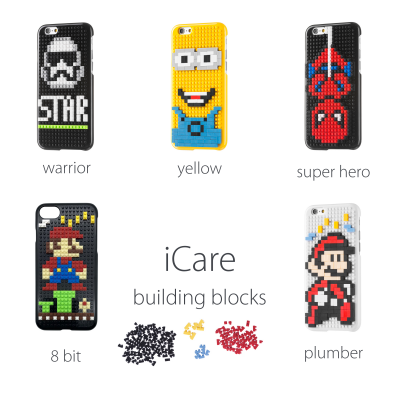 iPhone 6/6S Capa Building Blocks
