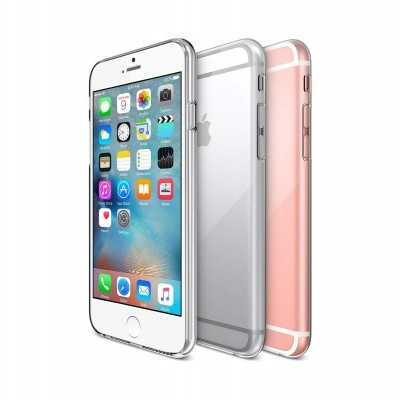iPhone 6/6S Capa Ultra-Fina Silicone Transparente