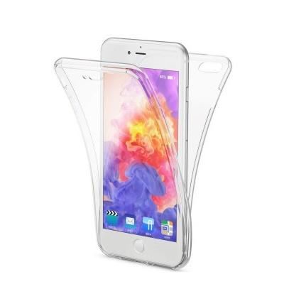 iPhone 6/6S Plus Capa 360º Silicone Transparente