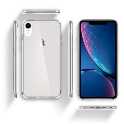 iPhone XR Capa 360º Silicone Transparente