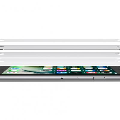 Películas de Protecção de Ecrã em Vidro Temperado Belkin ScreenForce® iPhone 7/8 Plus
