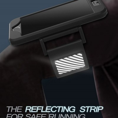 Armband / Bolsa Desportiva 2-em-1 Silicone