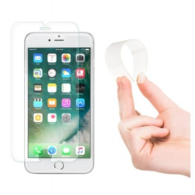 Películas de Protecção de Ecrã Ultra-Finas em Vidro Temperado Nano Flex HD+  iPhone 6/6S