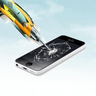 Películas de Protecção de Ecrã em Vidro Temperado iPhone 5C