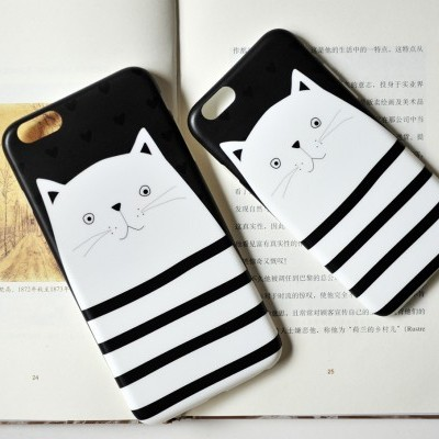 iPhone 6/6S Capa Maoxin Cat Thief (Capa + Ring Holder + Notebook + Estojo)