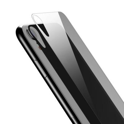 Películas de Protecção Traseira Baseus em Vidro Temperado iPhone XR