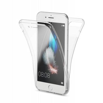 iPhone 7/8 Capa 360º Silicone Transparente