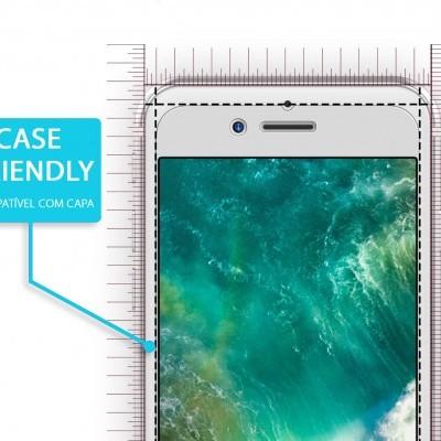 Películas de Protecção de Ecrã em Vidro Temperado Wozinsky HD iPhone 7/8