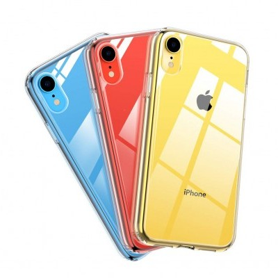 iPhone XR Capa Ultra-Fina Silicone Transparente