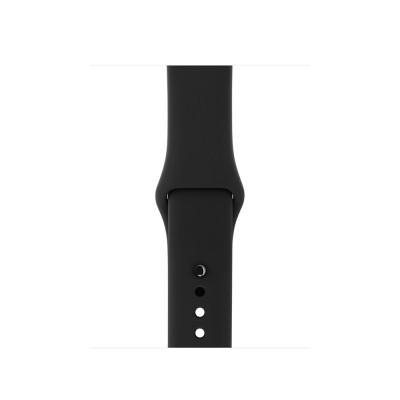 Apple Watch - Bracelete desportiva preta (38mm)