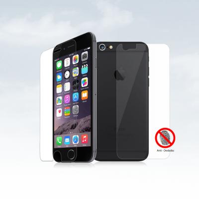 Películas de Protecção Frente e Trás Anti-Dedadas (Efeito Mate) iPhone 6/6S Plus
