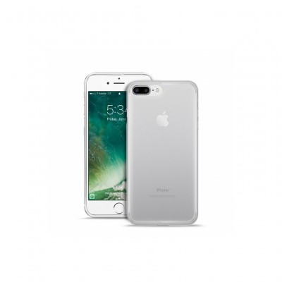 iPhone 7/8 Plus Capa Silicone Transparente Plasma PURO