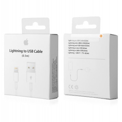 Cabo Apple Lightning para USB (0,5 m)