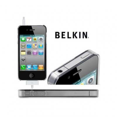 iPhone 4/4S Capa Belkin 100% Transparente