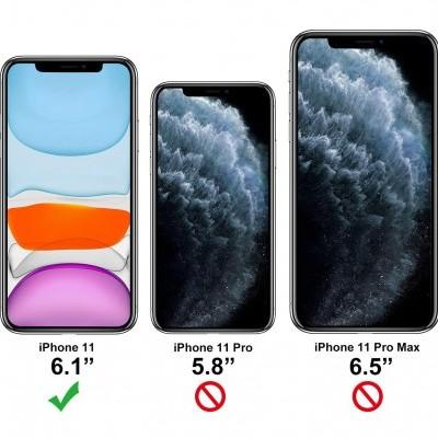 iPhone 11 Capa 360º Silicone Transparente